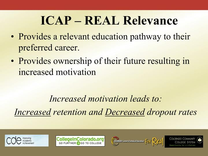 ICAP – REAL Relevance
