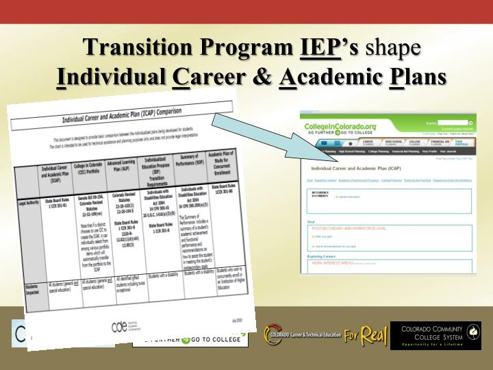 Transition Program