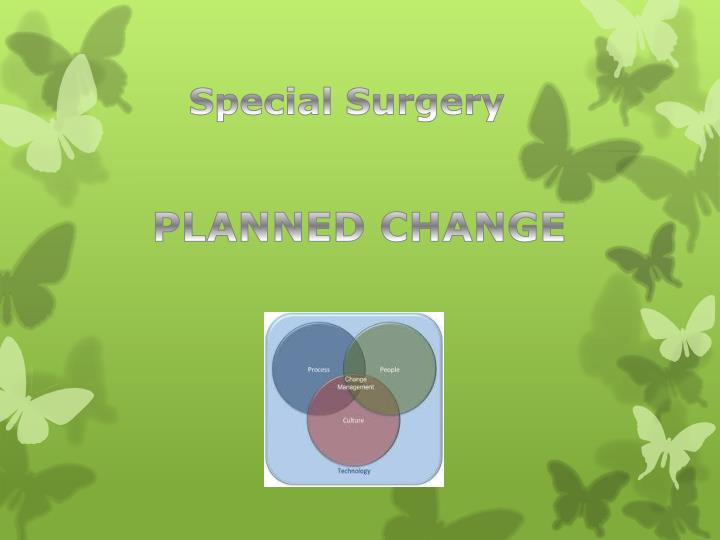 Special Surgery