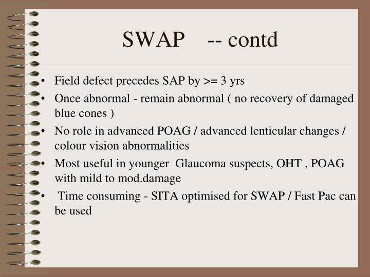 SWAP    -- contd