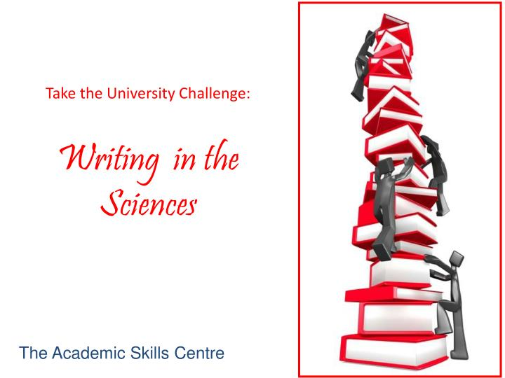 writing in the sciences Writing in the sciences is the one of the online free courses offered by the world's renowened university it deals with the writing scientific papers anybody can learn writing abstract to conclusion in a lucid manner the method applied is very helpful for science students.