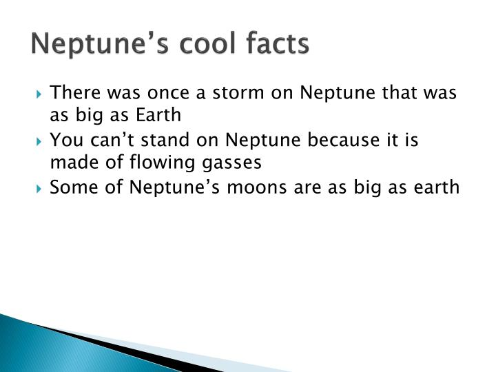 Neptune's cool facts
