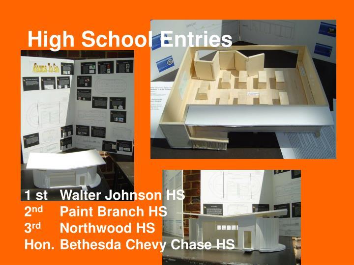 1 stWalter Johnson HS