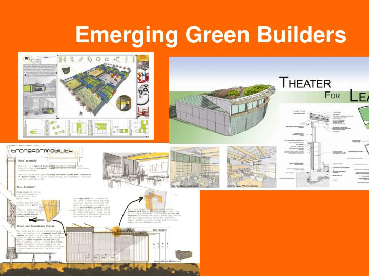 Emerging Green Builders
