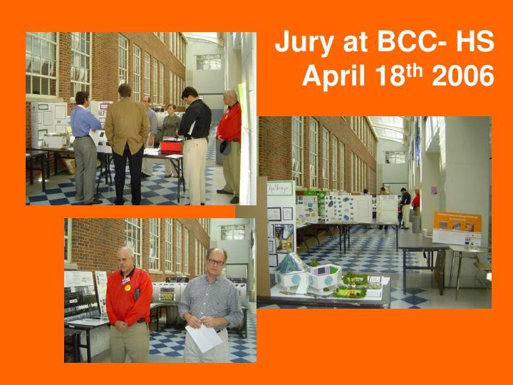 Jury at BCC- HS