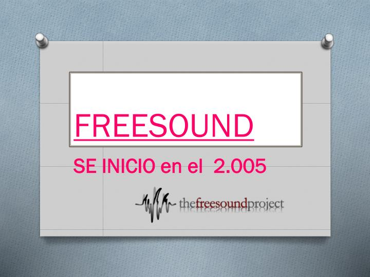 freesound n.