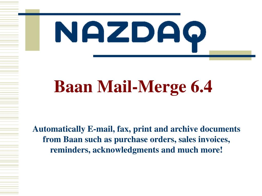 ppt baan mail merge 6 4 powerpoint presentation id 2763739