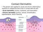 contact dermatitis1