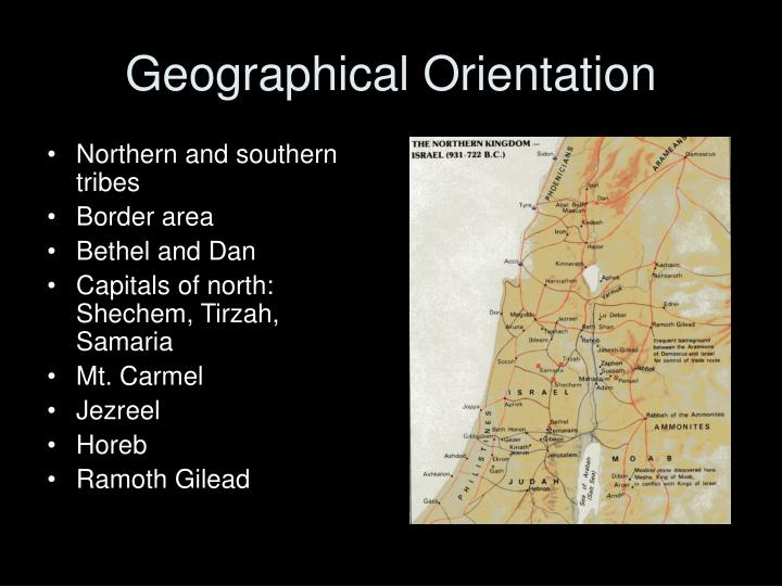Geographical Orientation