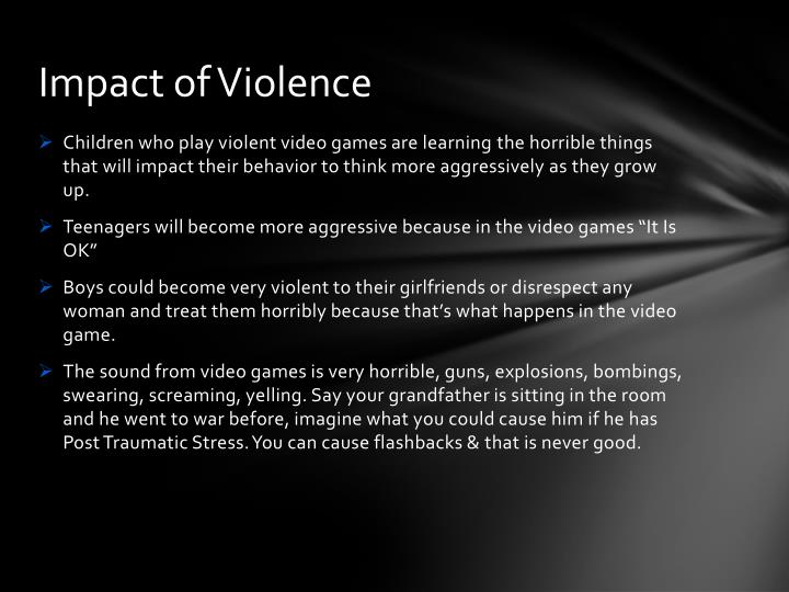 Impact of Violence