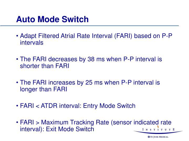 Auto Mode Switch