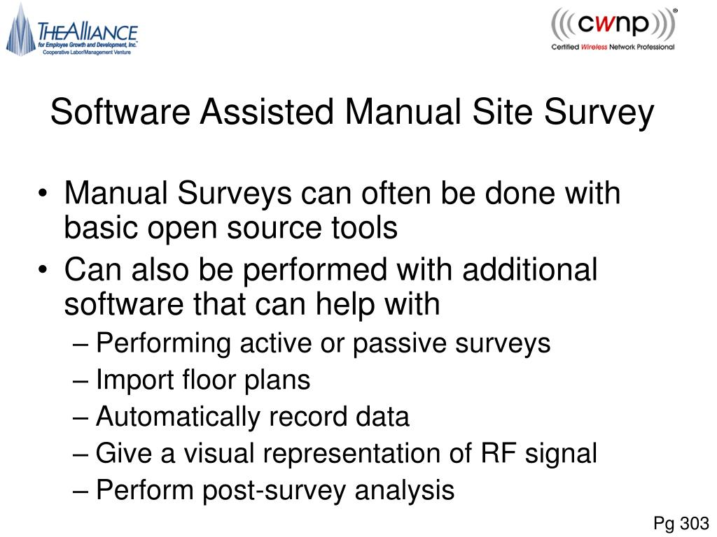 PPT - Performing a WLAN Site Survey PowerPoint Presentation - ID:2764177