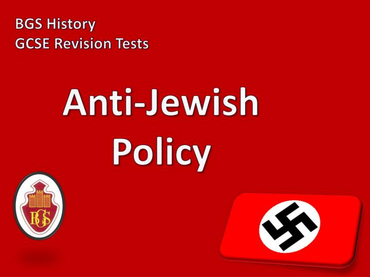 an introduction to the ideological roots of nazism and the issue of anti semitism From the 1960s anti-zionism and anti-semitism formed part of a larger ideological lay the roots of nazi anti-semitism and the issue of anti-semitism.