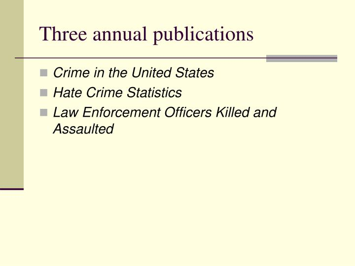 the extent to which official crime statistics The major strength of official data on juvenile crime is that they are objectively true in an important way when an official record is made of a crime, it means that a crime has clearly been.