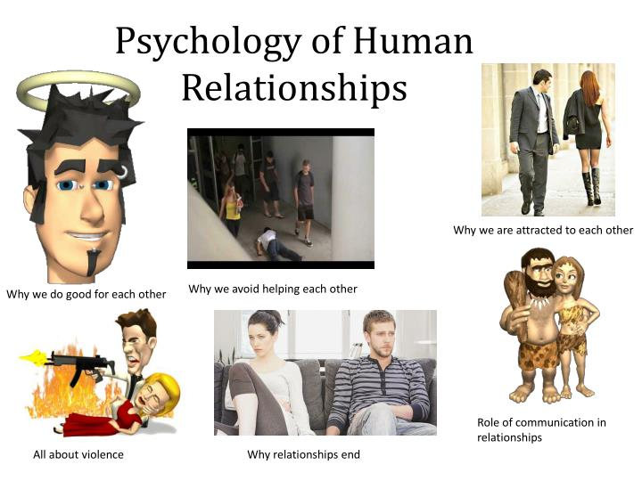 conflict psychology and human relations