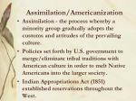 assimilation americanization