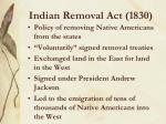 indian removal act 1830