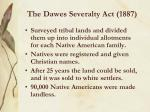 the dawes severalty act 1887