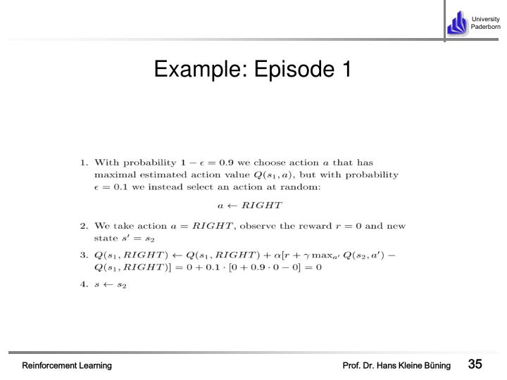 Example: Episode 1