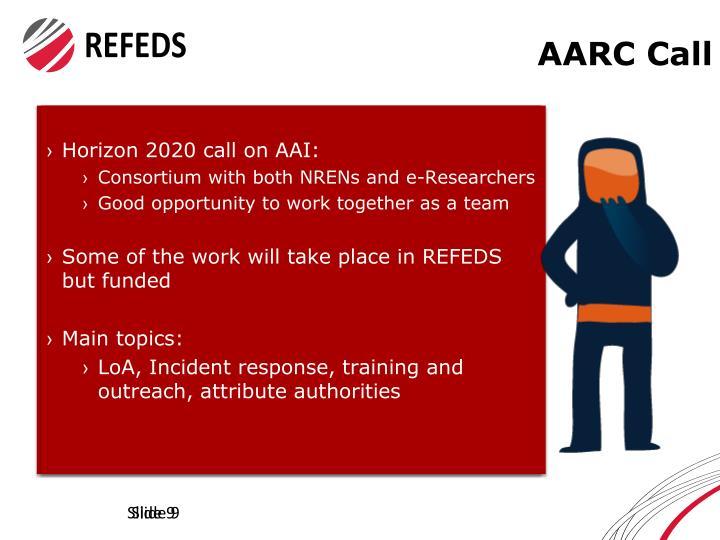 AARC Call