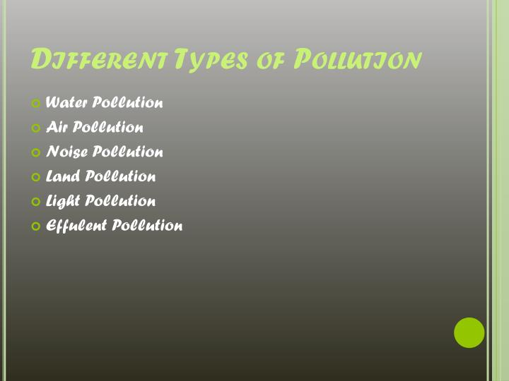Types Of Oil For Cars >> PPT - Facts about Pollution PowerPoint Presentation - ID ...