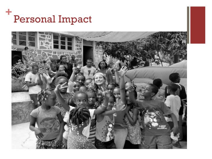 Personal Impact