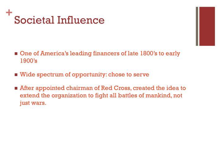 Societal Influence