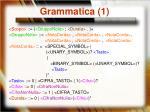 grammatica 1