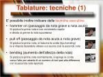 tablature tecniche 1
