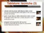 tablature tecniche 3