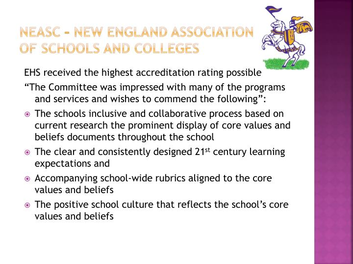 NEASC – New England Association