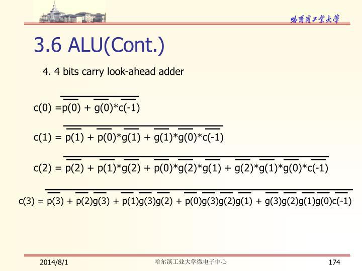 c(0) =p(0) + g(0)*c(-1)