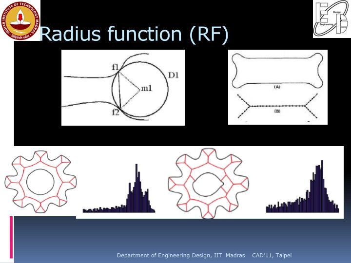 Radius function (RF)