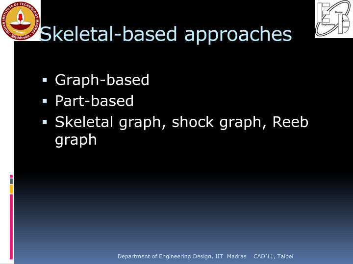 Skeletal-based approaches