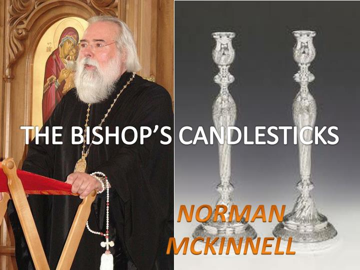 the bishop s candlesticks The bishop's candlesticks class 9 a convictbreaks into the bishop's house and is fedand warmed the benevolence of the bishop somewhat confoundsthe convict, but, when he sees the silver candlesticks, he stealsthem, and runs away.