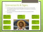sacraments signs