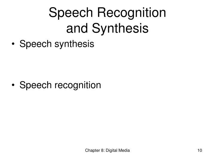 Speech Recognition