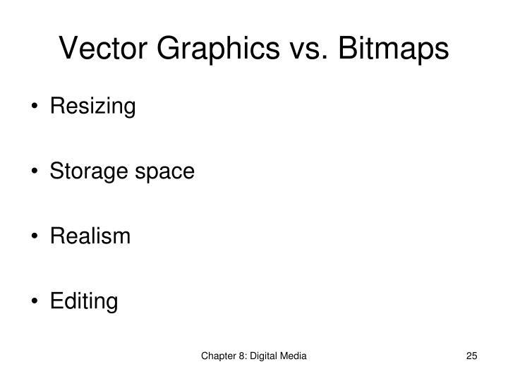 Vector Graphics vs. Bitmaps