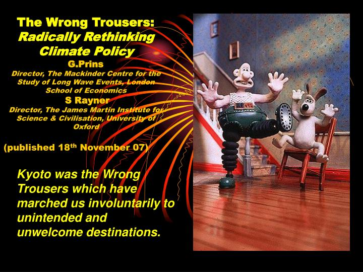 The Wrong Trousers: