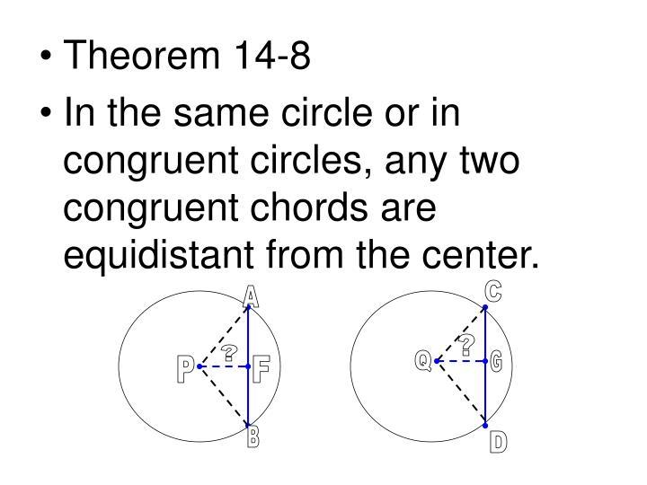 Theorem 14-8