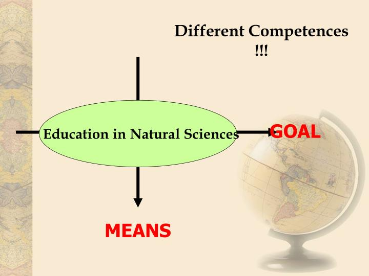 Different Competences !!!