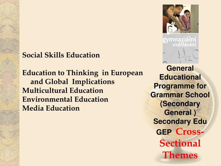 Social Skills Education