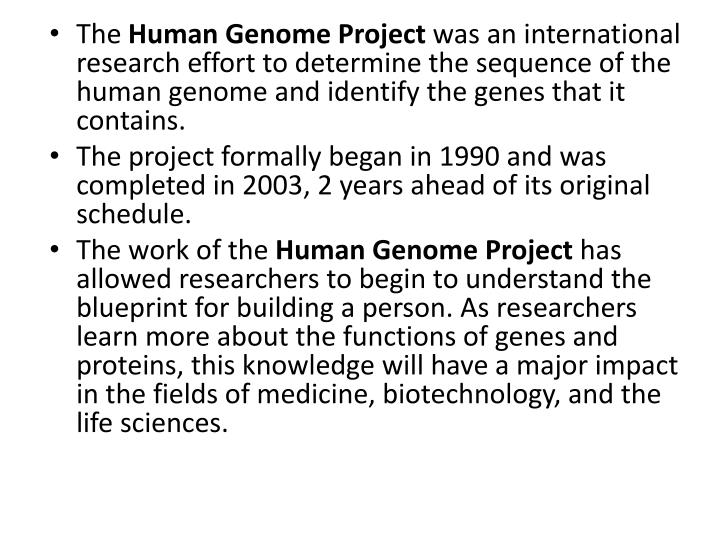 morality and the human genome project essay The more recent genome sequencing era has supported this original proposal » the human genome project » morality and the human genome p » essay on.