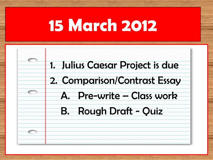 compare and contrast essay about fashion