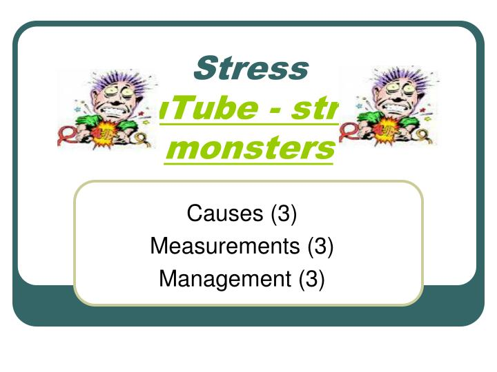 stress youtube stress monsters n.