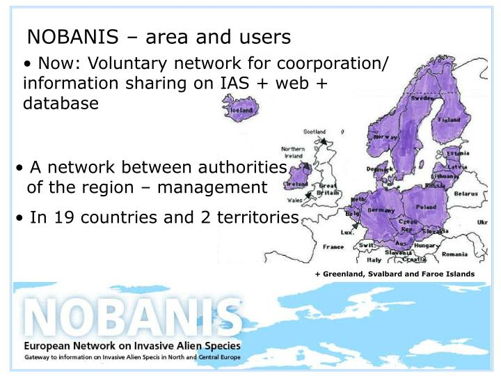 Nobanis area and users