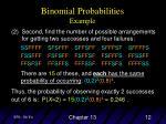 binomial probabilities example2