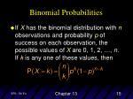 binomial probabilities1