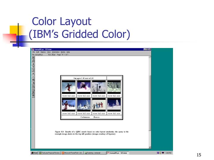 Color Layout