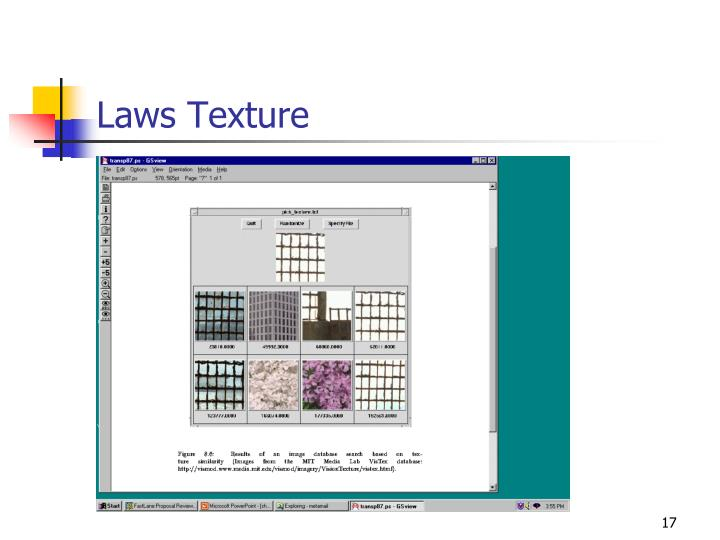 Laws Texture